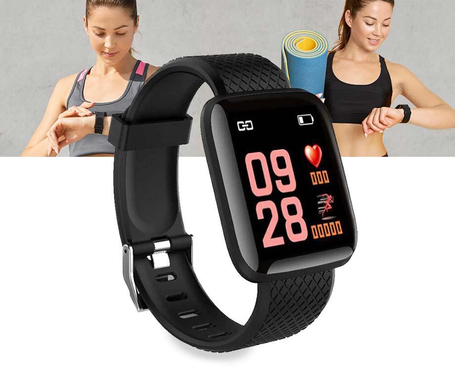Smartwatch Fitness Tracker - Met Veel Handige En Gezondheid Functies!