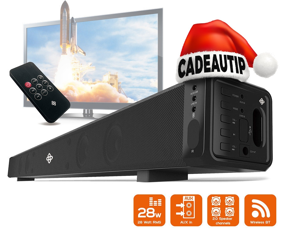 Dagaanbieding - Dutch Originals Bluetooth Soundbar Speaker! dagelijkse koopjes