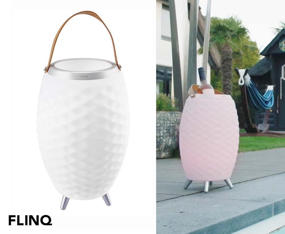 Speaker Lamp Bali - Met Wijnkoeler!