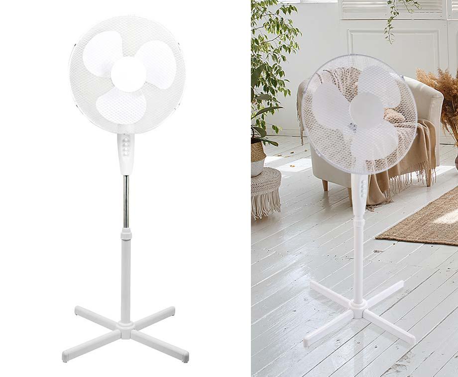Grote Staande Ventilator 40cm - Voor De Nodige Verkoeling!