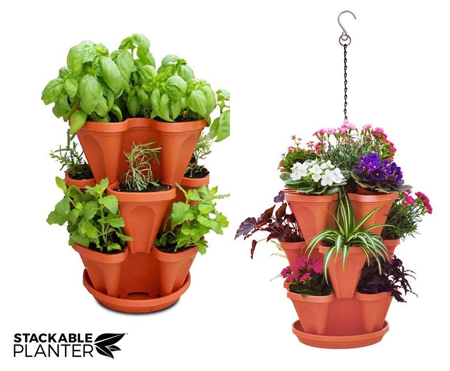 Stackable Planter - Bruin