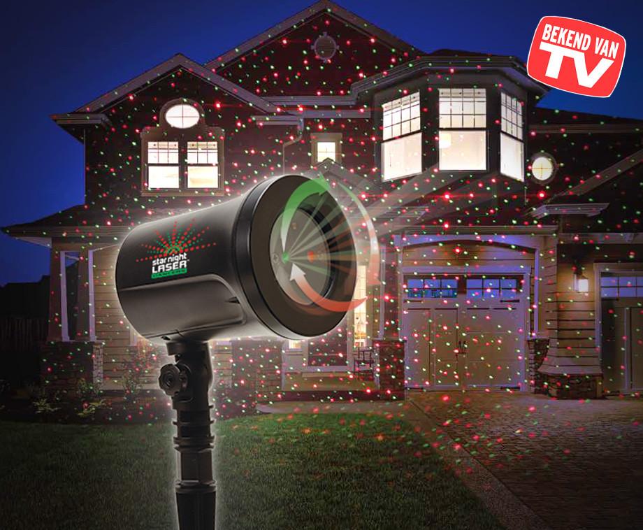 Star Night Laser Dancer - Projecteer Bewegende Holografische Sterren!