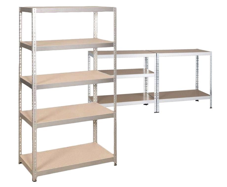 Dagaanbieding - Robuuste Metalen Stellingkast-Met 5 Planken En Tot 175KG Belastbaar dagelijkse koopjes