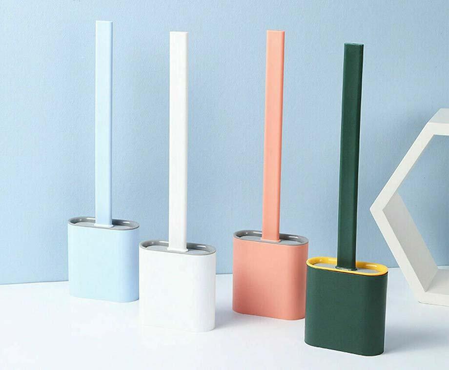 Super Clean Toiletborstel - Verkrijgbaar In 4 Kleuren!