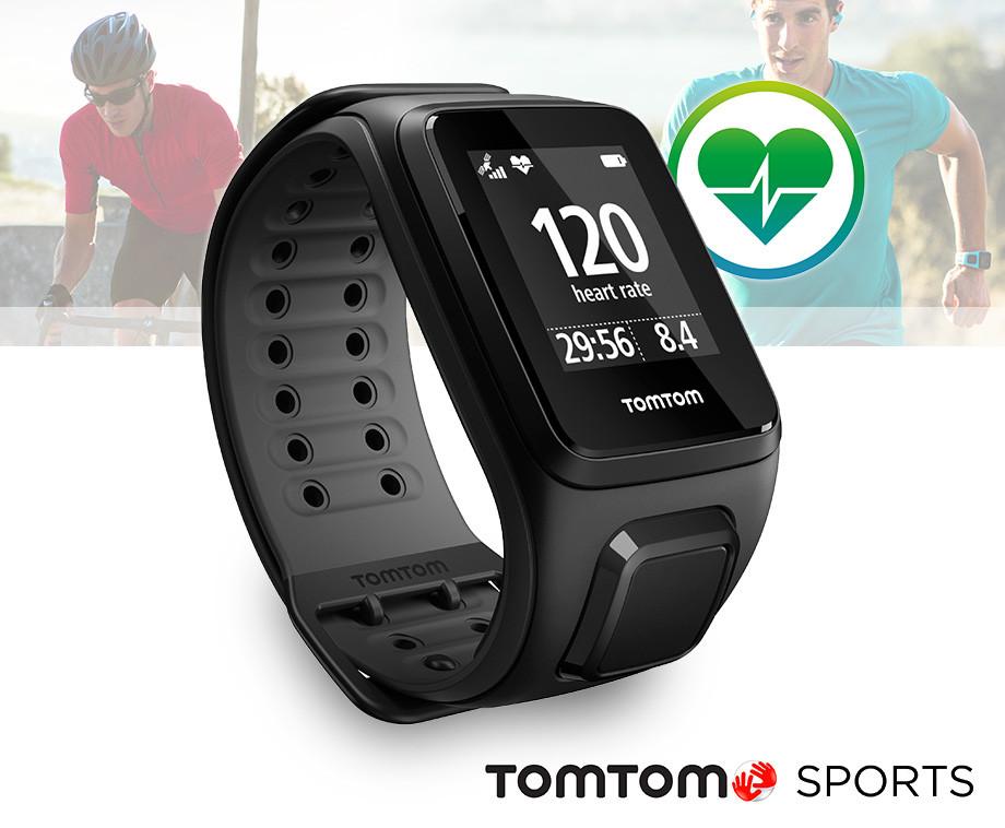 TomTom Runner 2 Cardio GPS - Met Ingebouwde Hartslagsensor!