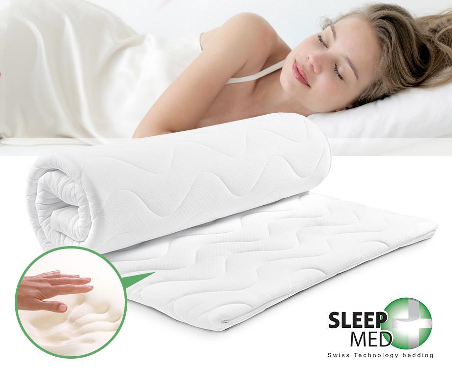 Luxe Sleep Med Topdekmatrassen - Een Comfortabeler Matras Zonder...