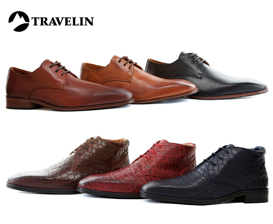 e157ec95e26 Travelin' London Groupdeal Aanbieding Herenschoenen Lederen TrFAwqTxz