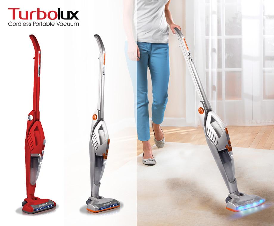 Turbolux 2-In-1 Snoerloze Accustofzuiger - Met Geïntegreerde...