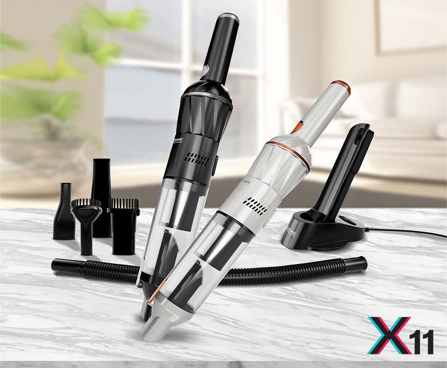 Turbotronic X11 Draadloze Handstofzuiger - Overal En Snel Te...