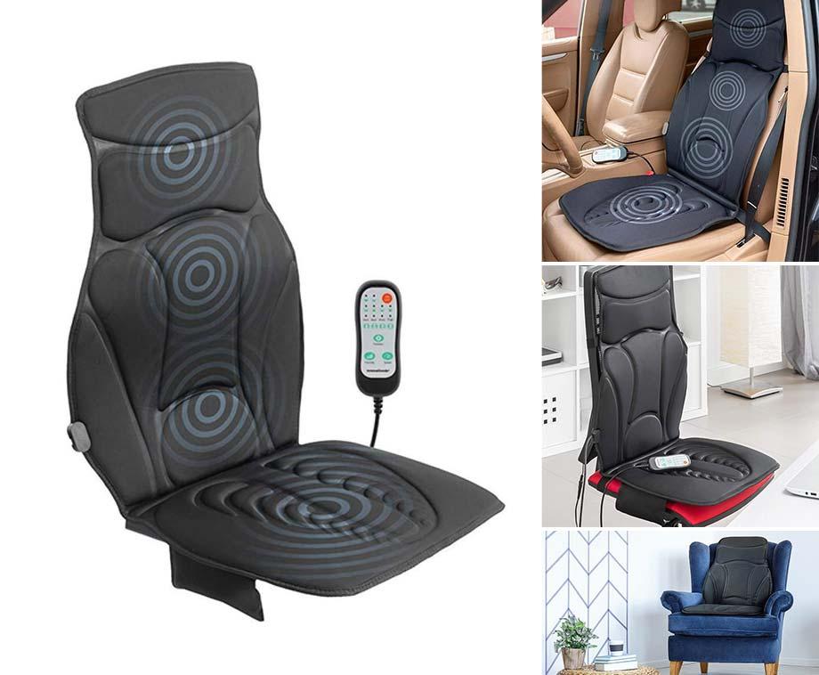 Verwarmde Massagemat - Voor In Bureau-, Auto-, Of Gewone Stoel!