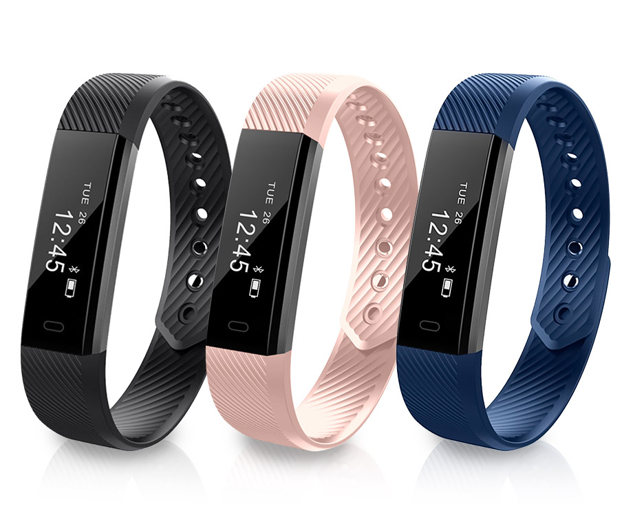 VFit Activity Tracker Smartwatch Met Touchscreen - In 3 Kleuren...