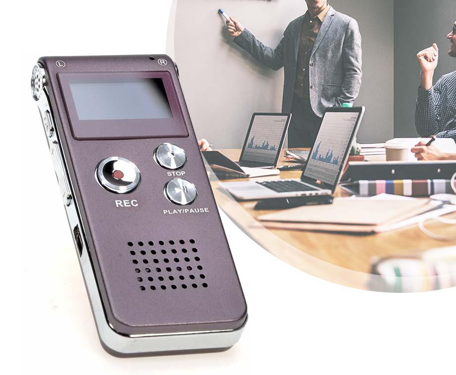 Digitale Voice Recorder - Recorder, MP3-speler En USB-stick In Één!