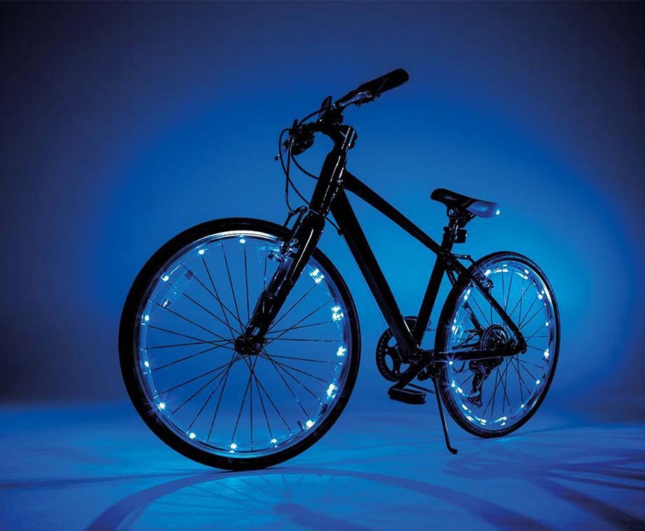 Foto Wheely Bright - LED Verlichting Voor Fietswielen!