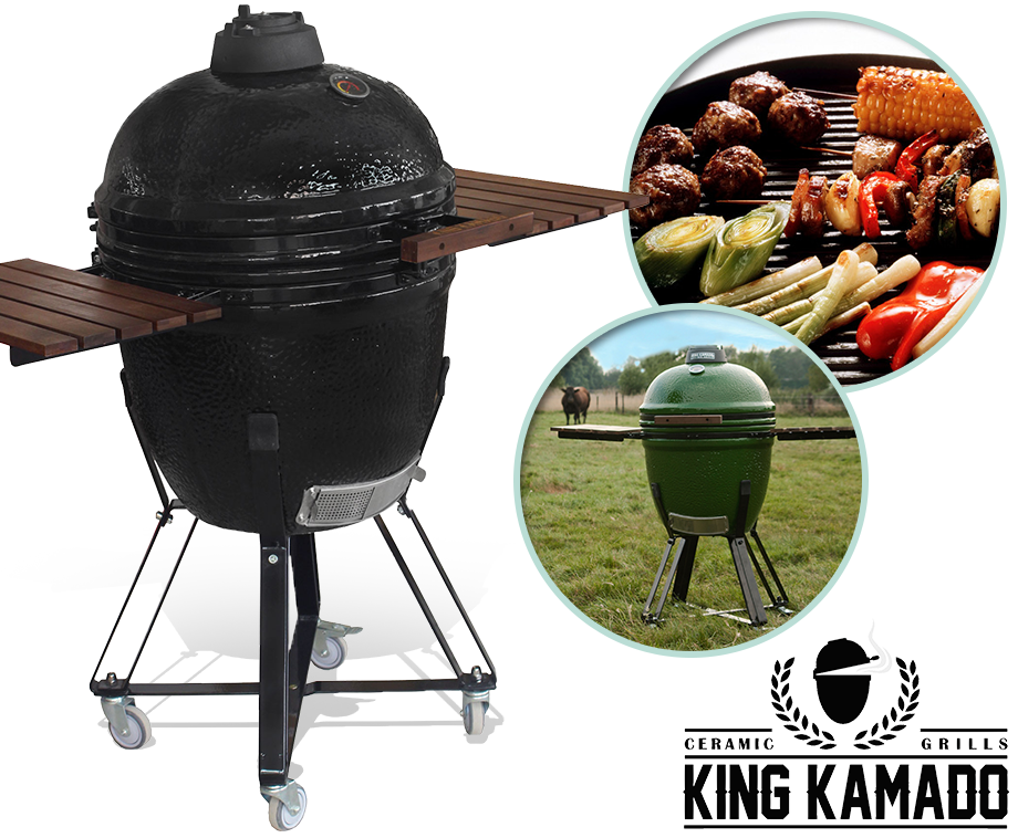 king kamado grill winter voorraad uitverkoop nog nooit. Black Bedroom Furniture Sets. Home Design Ideas