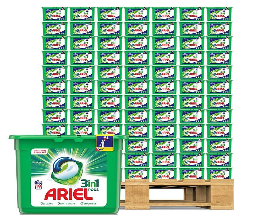 MEGA PACK Ariel All-In-1 Pods - Keuze Uit Color En Regular!